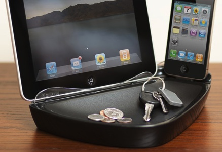 Griffin PowerDock Dual Charging Dock for iPad/iPhone with keys