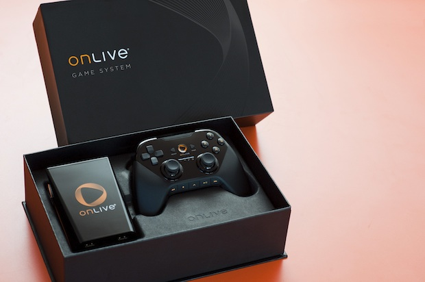OnLive Video Game System Packaging