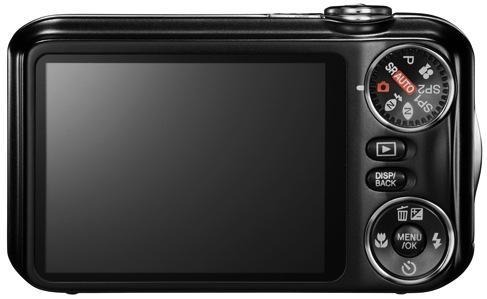 FujiFilm FinePix JX300 and JX350 Digital Cameras - Back
