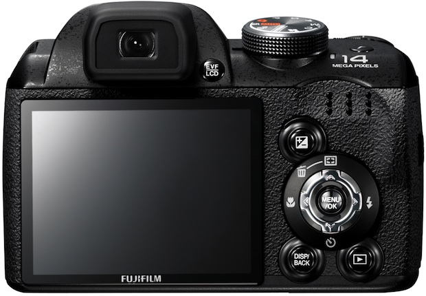FujiFilm FinePix S4000 Digital Camera - Back