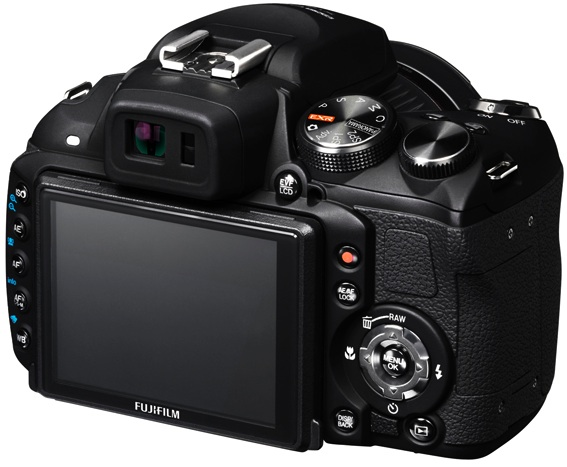 FujiFilm FinePix HS20EXR Digital Camera - Back