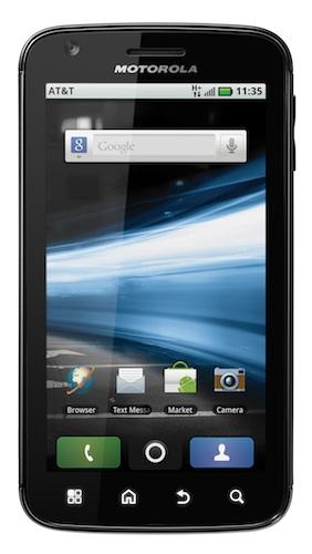Motorola ATRIX 4G Smartphone - Front