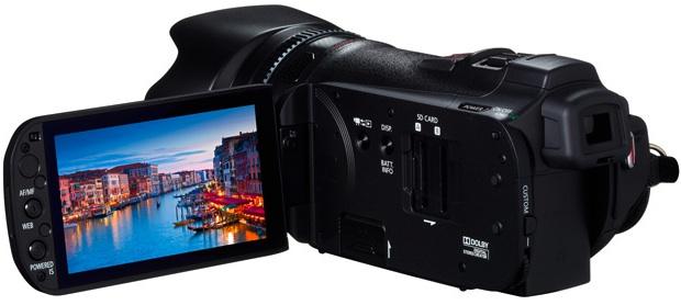 Canon VIXIA HF G10 Camcorder - back