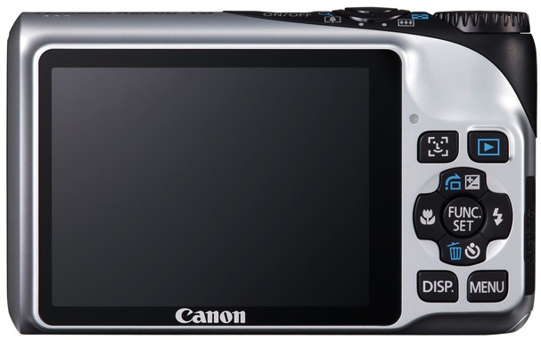 Canon PowerShot A2200 Digital Camera - Back