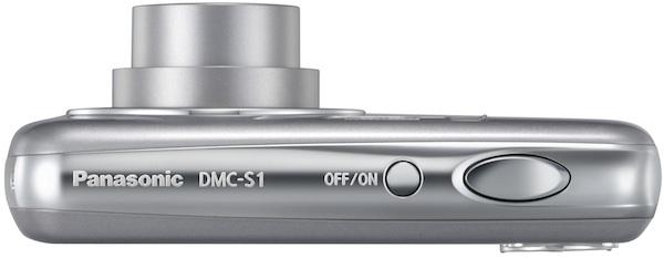 Panasonic DMC-S1 Lumix Digital Camera - Top