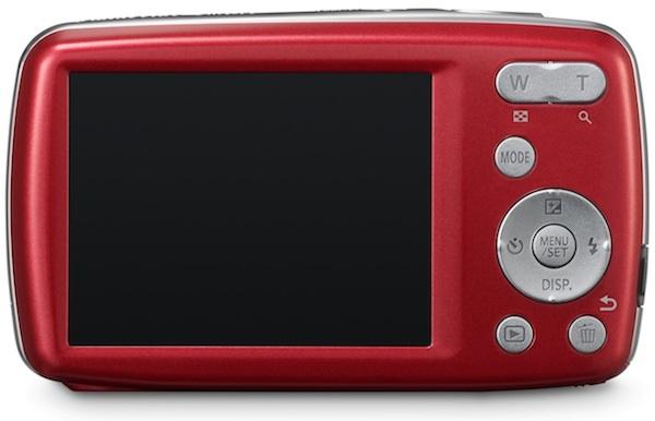 Panasonic DMC-S3 Lumix Digital Camera - Back