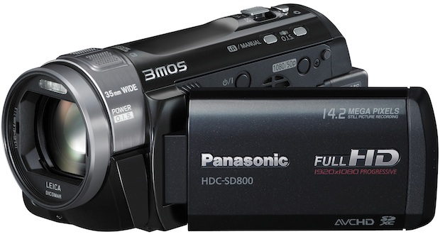 Panasonic HDC-SD800 Camcorder