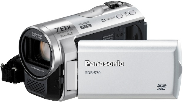 Panasonic SDR-S70 Standard Definition Camcorder