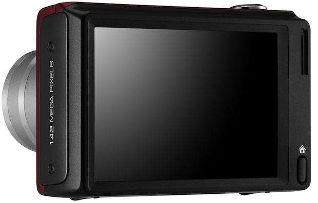 Samsung WB210 Digital Camera - Back