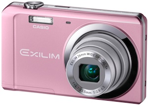 Casio EX-ZS5 Exilim Digital Camera - Pink