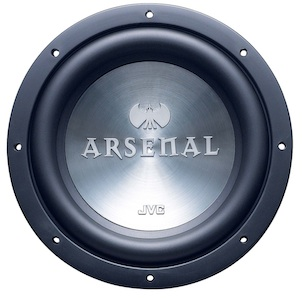 JVC CS-AW6040 Arsenal Car Subwoofer