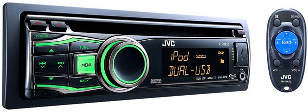 JVC KD-R720 CD Receiver
