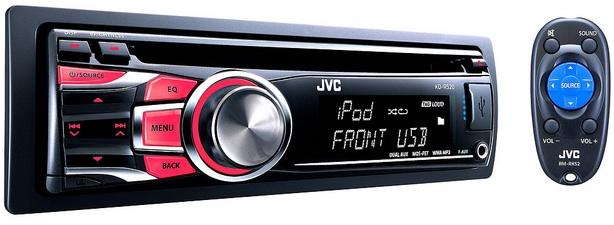 JVC KD-R520 CD Receiver