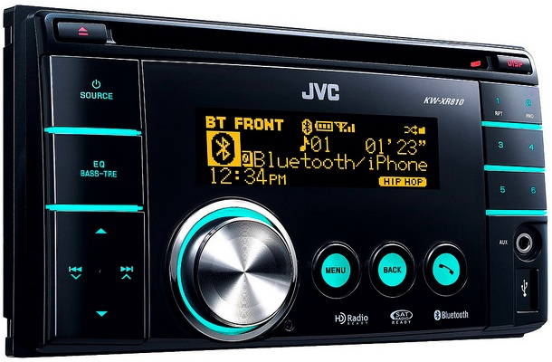 JVC KW-XR810 Double Din CD Receiver