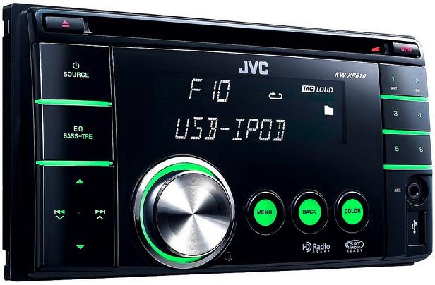 JVC KW-XR610 Double Din CD Receiver