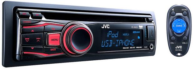 JVC KD-A625 CD Receiver
