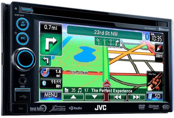 JVC KW-NT50HDT Car Navigation System