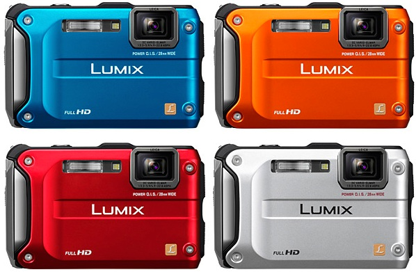 Panasonic DMC-TS3 Lumix Rugged Digital Camera - Colors