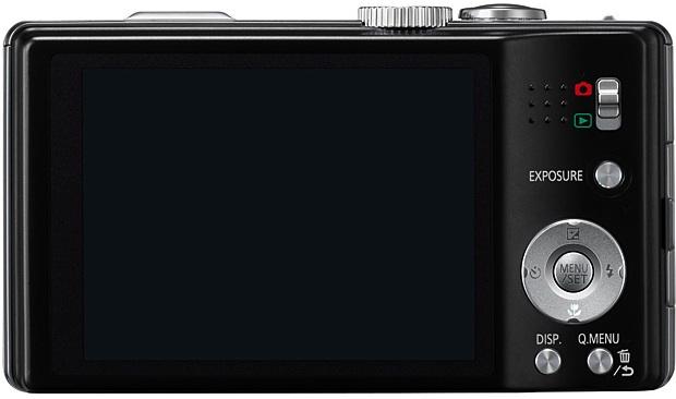 Panasonic DMC-ZS10 Lumix Digital Camera - Back