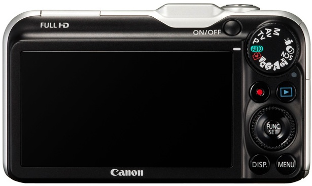 Photo of Canon PowerShot SX230 HS Digital Camera - back view