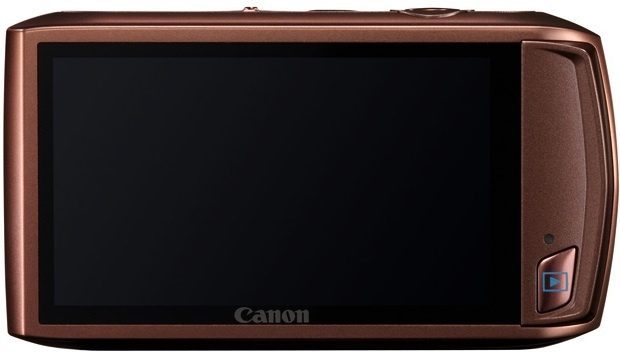 Photo of Canon PowerShot ELPH 500 HS Digital Camera - Back