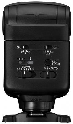 Photo of Canon Speedlite 320EX DLSR Camera Flash - Back