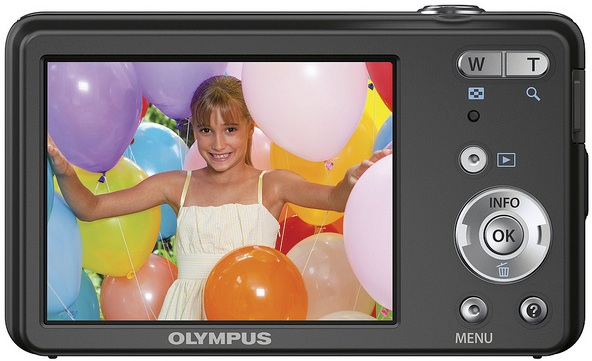 Photo of Olympus VG-110 Digital Camera - Back