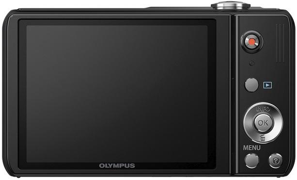 Photo of Olympus VR-320 Digital Camera - Back