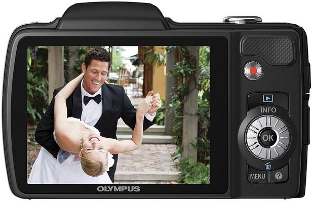Photo of Olympus SZ-10 Digital Camera - Back