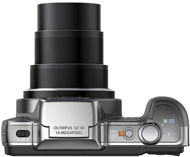 Photo of Olympus SZ-10 Digital Camera - Top