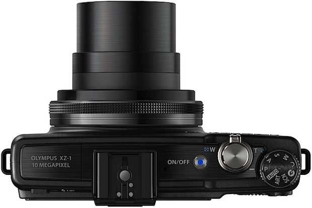 Photo of Black Olympus XZ-1 Digital Camera - Top