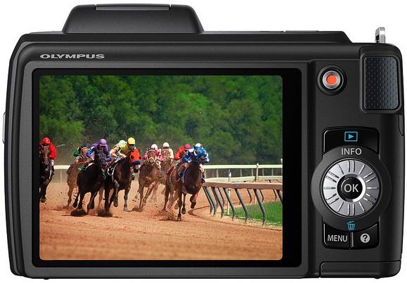 Photo of Olympus SP-610UZ Digital Camera - Back