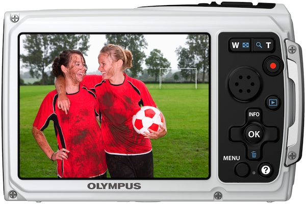 Photo of Olympus Tough TG-310 Waterproof Digital Camera - Back