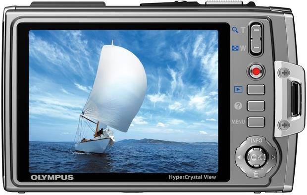 Photo of Olympus Tough TG-610 Waterproof Digital Camera - Back