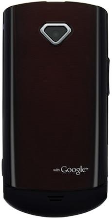 Samsung Gem Smartphone - Back