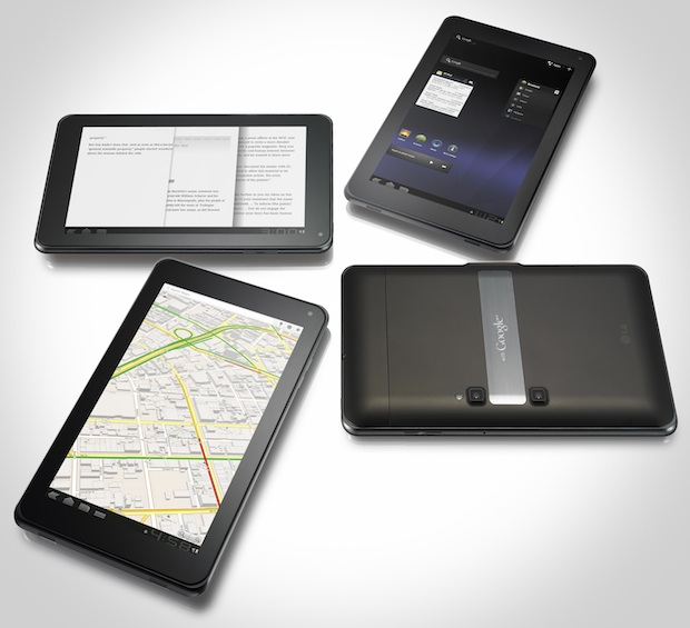 LG Optimus Pad Tablets