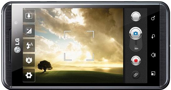 LG Optimus 3D Smartphone