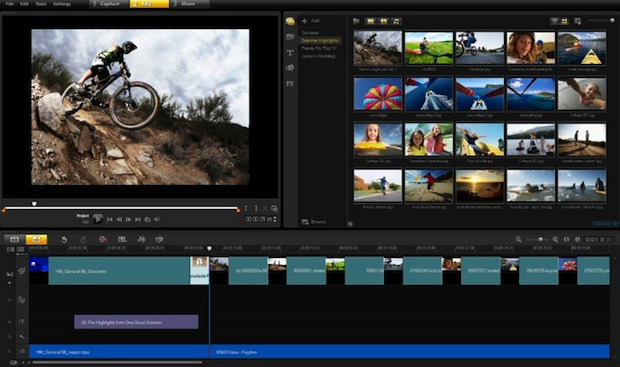 Corel VideoStudio Pro X4 - Screenshot - Editing