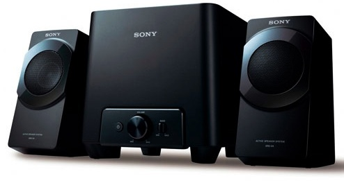 Sony SRS-D4 Sub/Sat PC Speakers