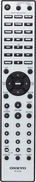 Onkyo RC-816s Remote Control
