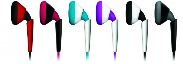 iSkin earTones Earphone Colors