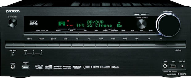 Onkyo HT-RC370 THX Select2 Plus A/V Receiver