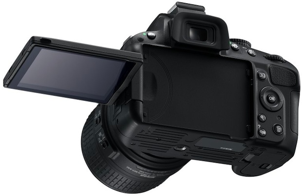 Nikon D5100 Digital SLR Camera - LCD