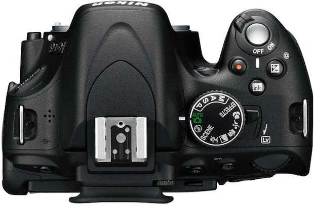 Nikon D5100 Digital SLR Camera - Top