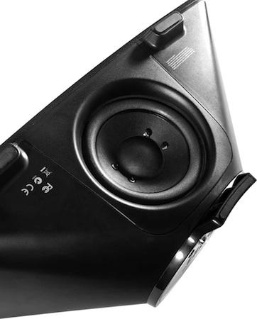 Altec Lansing Octiv 650 iPod Speaker Dock - Bottom Subwoofer