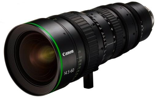 Canon FK14.5-60 PL-Mount Digital Cine Zoom Lens