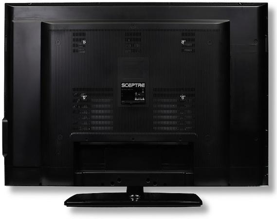 Sceptre X460BV-FHD LCD HDTV - Back