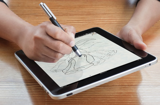 Wacom Bamboo Stylus for iPad in hand