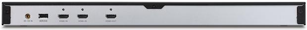 ViewSonic VP3D1 3D HD Video Converter Box - Back