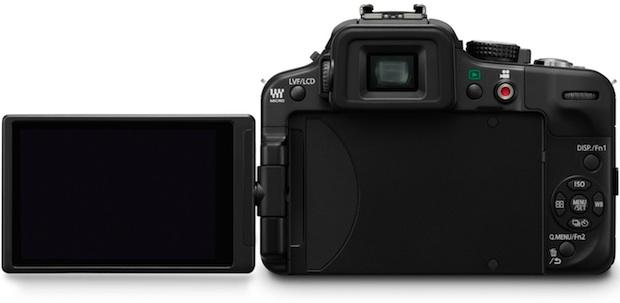 Panasonic DMC-G3 Lumix Micro Four Thirds Digital Camera - Back